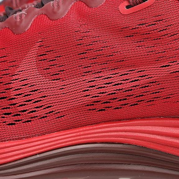 Nike Lunarglide+ 5 JP Herren Laufschuhe Sport RotWeinrot
