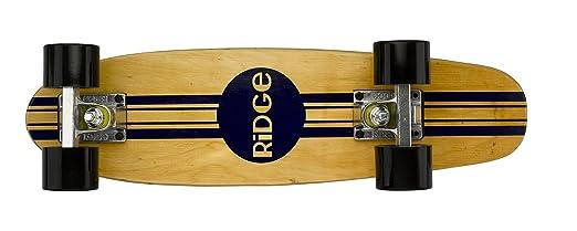 59 opinioni per Ridge Skateboards Maple Mini Cruiser Original Skateboard, Nero