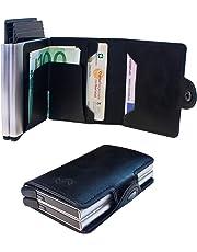 8cd059c01a CashFlow Porta Carte Credito RFID Protection Porta Carte in Ecopelle con  Blocco RFID Porta tessere Schermato