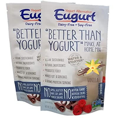 """Better Than Yogurt"" Make At Home Mix (Dairy and Soy Free!) (Vanilla, 2-Pack): Grocery & Gourmet Food"