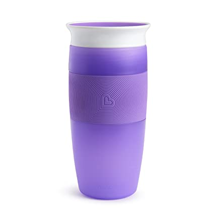 14 Ounce Purple Munchkin Miracle 360 Sippy Cup