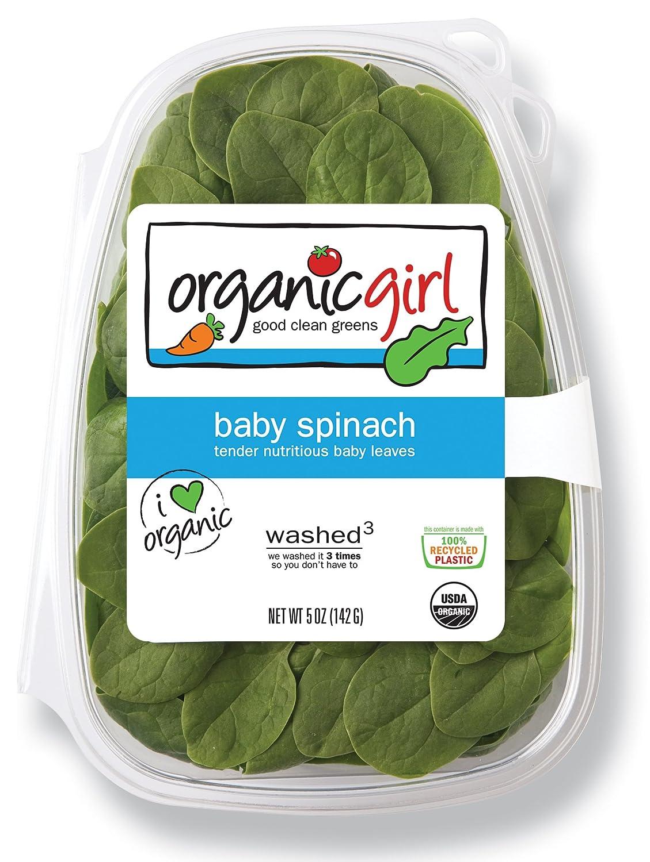 Organic Girl, Organic Baby Spinach, 5 oz