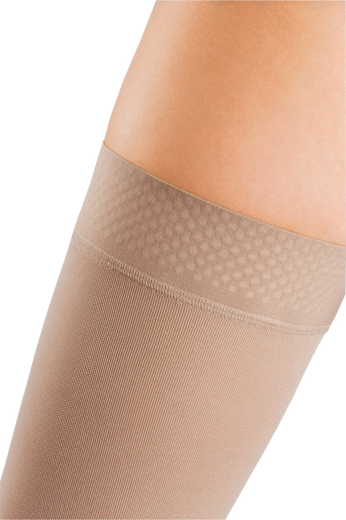 mediven Comfort, 20-30 mmHg, Thigh High Compression Stockings w/Silicone Top-Band, Closed Toe by mediven (Image #2)