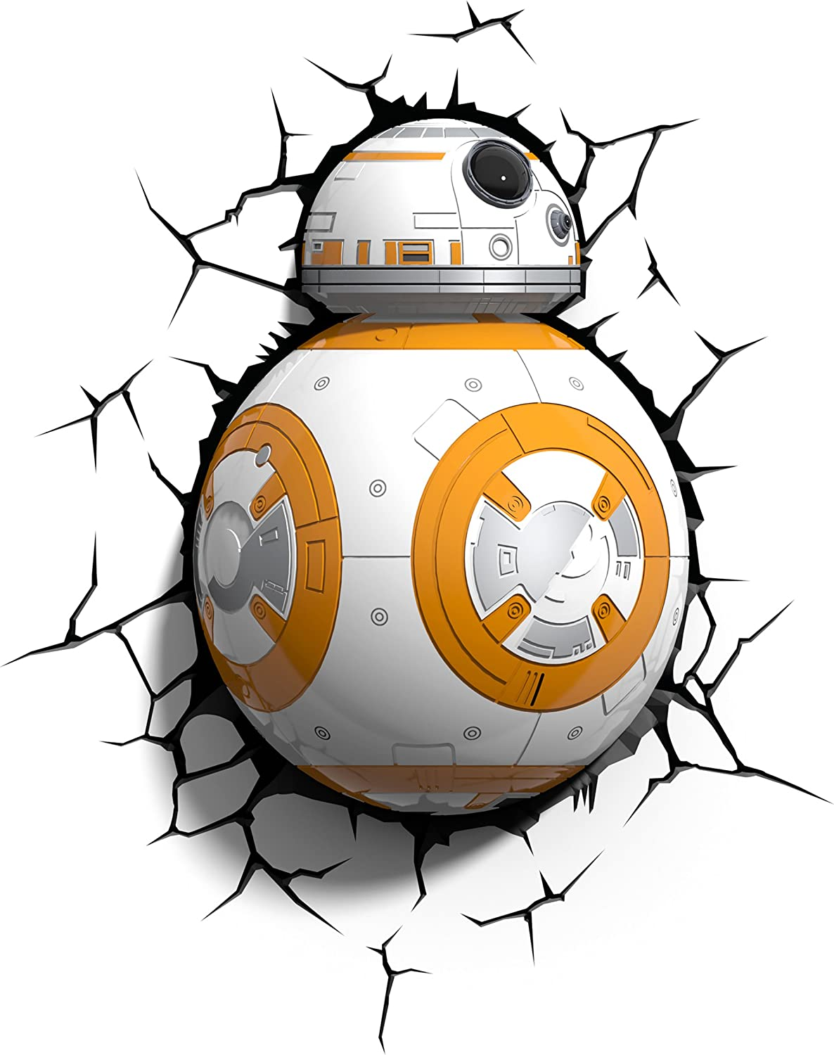 3DLightFX Star Wars BB-8 3D Deco Light