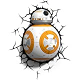 Star Wars Bb8 3d Wall Light