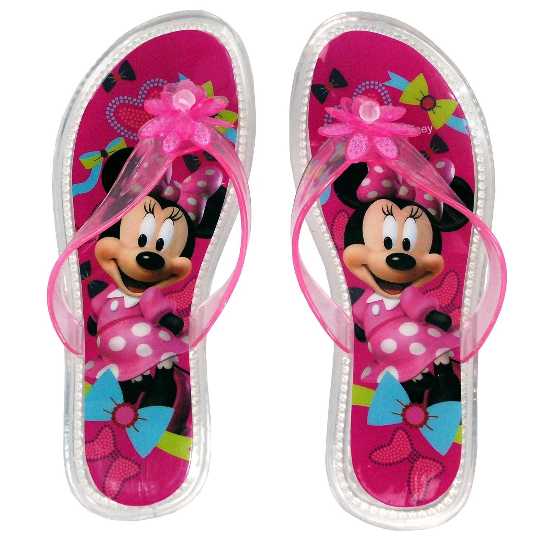 Smart Disney Children Slippers For Girls Boys Minnie Summer Sandals Kids Flip Flop Home Bath Shoes Non-slip Beach Shoes Animal Children's Shoes Boys