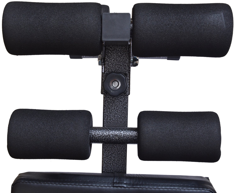 Banco de gimnasio, con altura e inclinación ajustables, ideal para abdominales, para alzar barras de pesas, de Kemket , SC-82092 Black, 1: Amazon.es: ...
