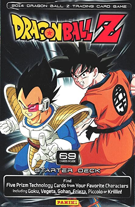 2014 dragon ball z tcg trading card game starter deck random personality dbz