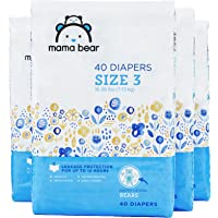 160-Count Amazon Brand Mama Bear Diapers Size 3