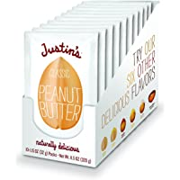 10-Pack Justin's Classic Peanut Butter Squeeze