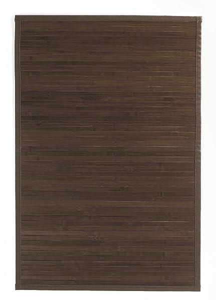 Ridder Tappeto in Bamboo color legno 60 x 90 cm, Marrone (Braun ...