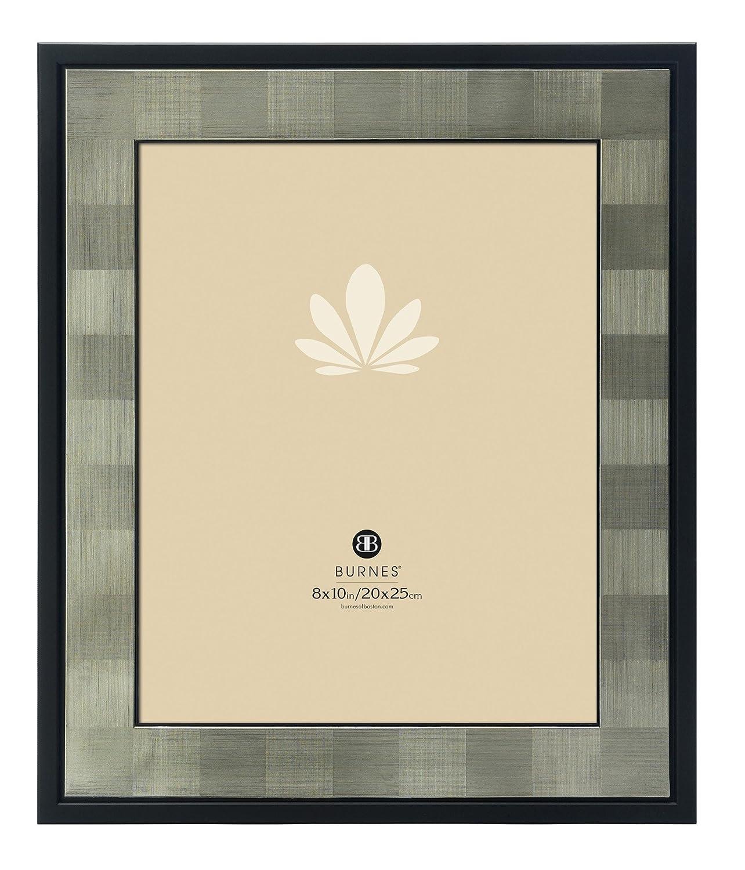 Amazon.com - Burnes of Boston 513880 Squares Picture Frame, Black, 8 ...