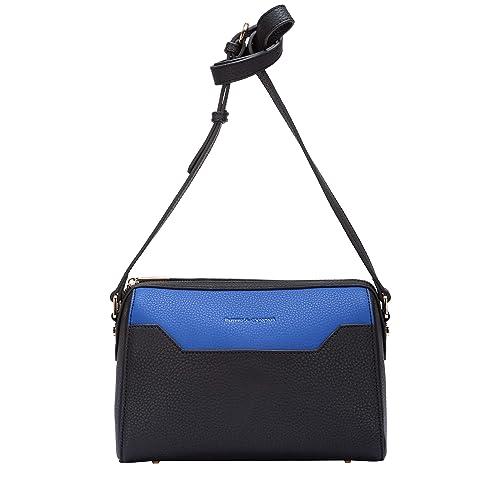 Smith   Canova Womens Pocket Detailed Zip Top Cross Body Bag Shoulder Bag  Black (Black 5ecf5082dc72e