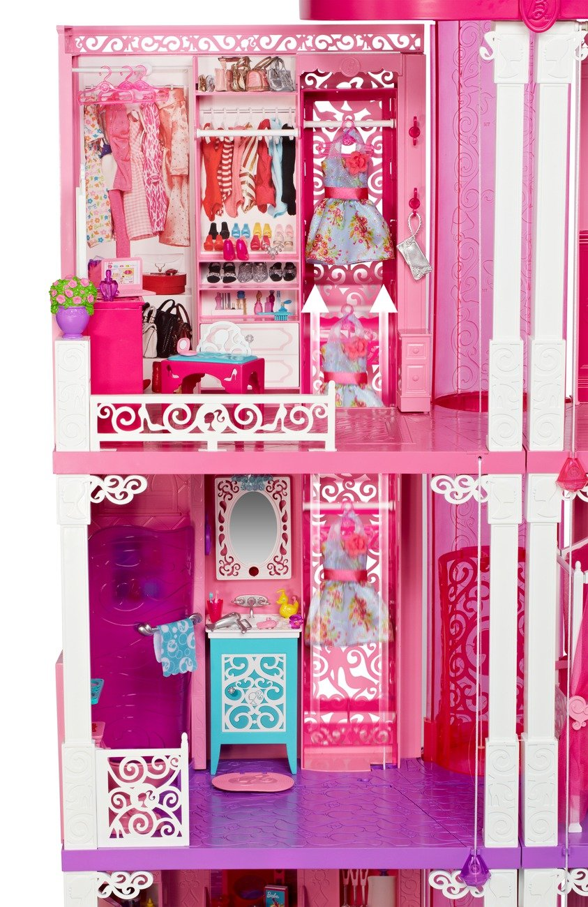Barbie deluxe dream house the image kid for Casa amazon