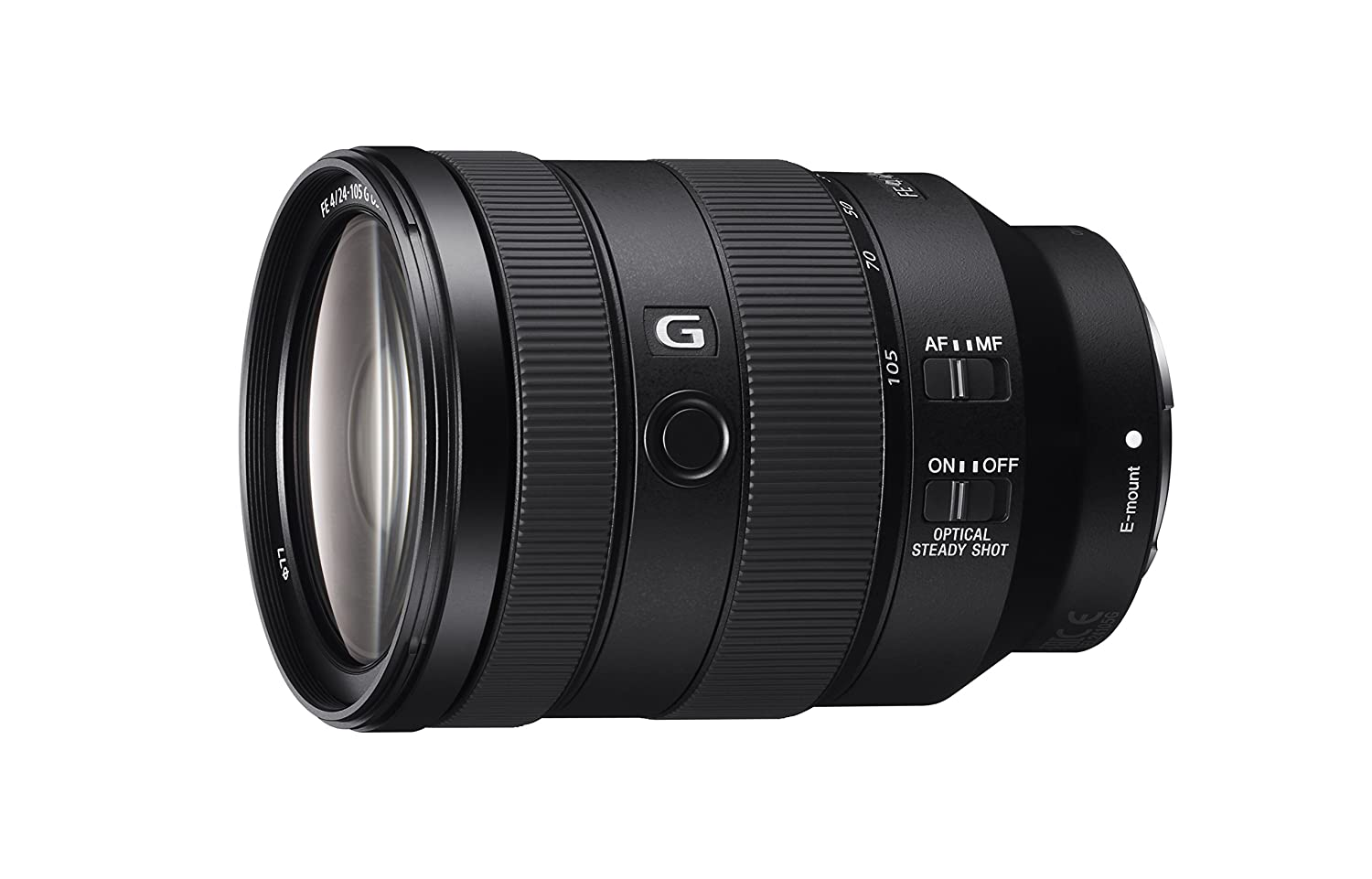 Sony 24-105mm f/4.0-22 Standard-Zoom Fixed Zoom Camera Lens, Black Sony Electronics Inc SEL24105G