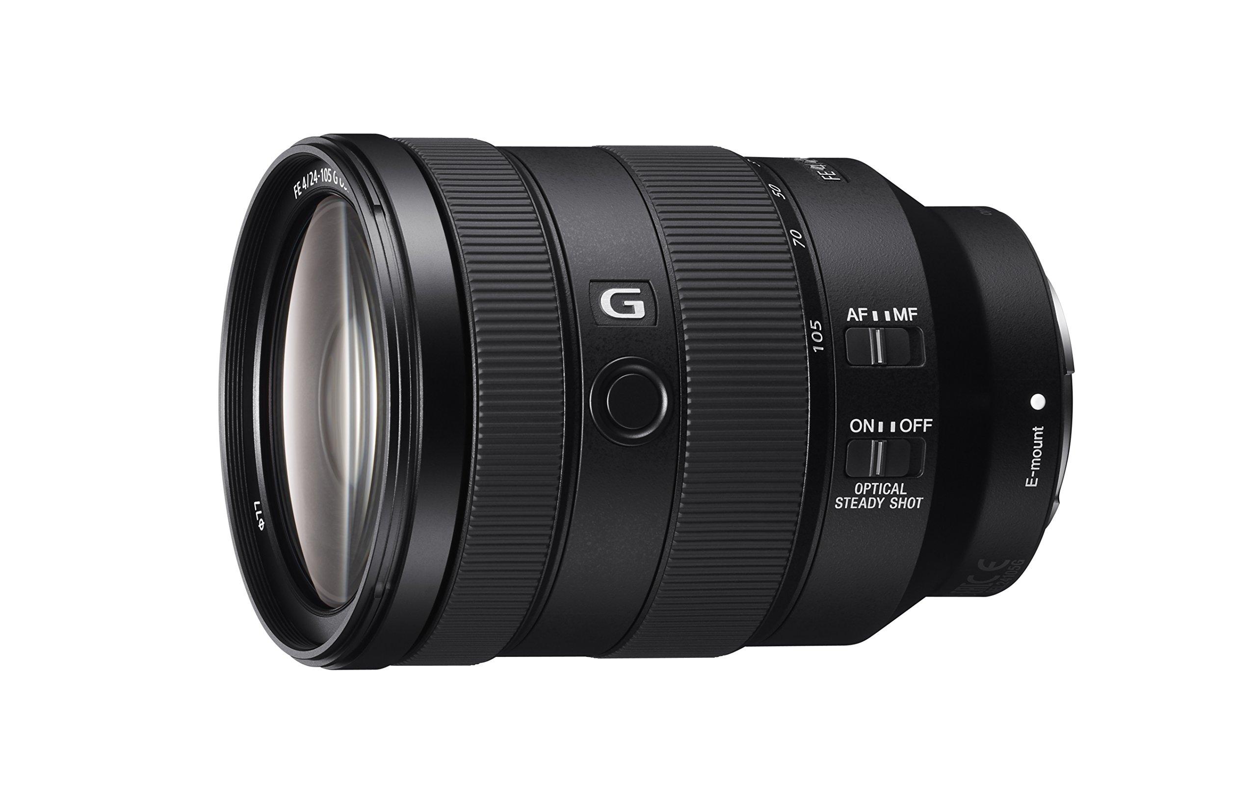 Sony Full Frame 24-105mm f/4 Standard-Zoom Camera Lens