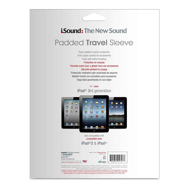 Amazon.com: iSound Universal Padded Travel Sleeve for ...