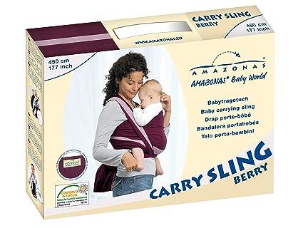 e936c40a215 Amazon.com   Amazonas 510cm Carry Sling (Berry)   Baby