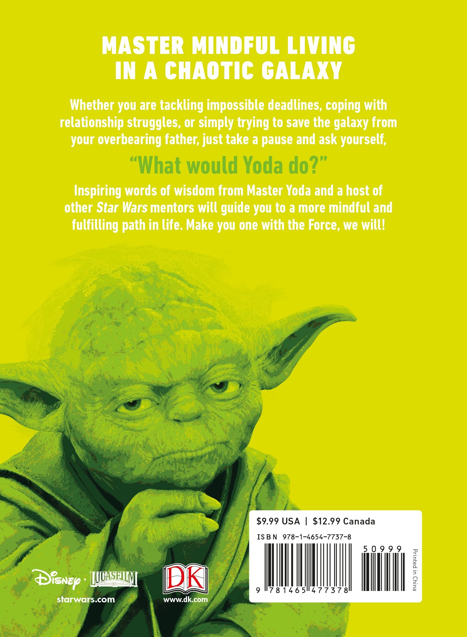 Star Wars Be More Yoda Mindful Thinking From A Galaxy Far Far Away