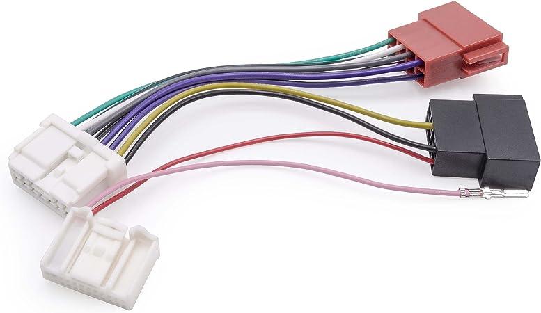 Vhbw Iso Adapter Kabel Kfz Auto Radio Passend Für Elektronik