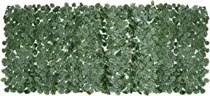 ZENY Faux Ivy Privacy Fence Screen 98''X39'' Artificial Hedge Fencing Outdoor Privacy Fence Screen,Wall Home Garden Decoration