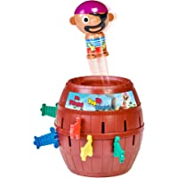 TOMY T7028 Pop Up Pirate Action Game, 10.8 Inches Brown