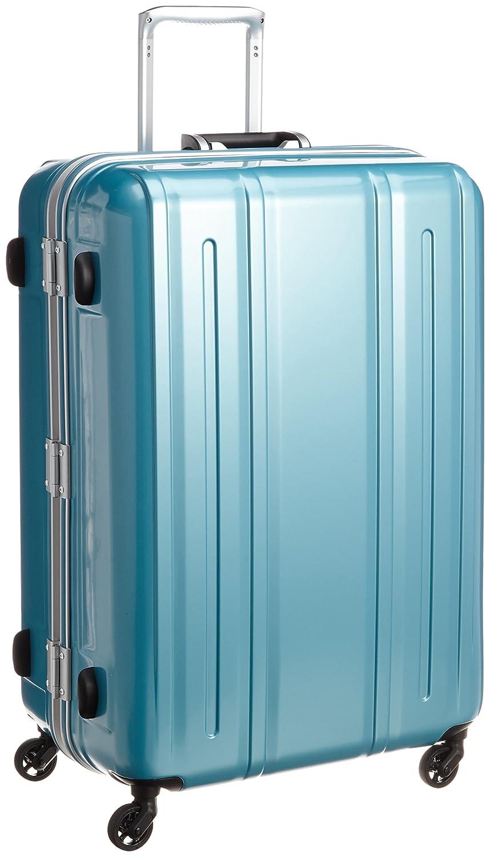 [エバウィン] 軽量スーツケース Be Light 静音キャスター 94L 74cm 4.5kg 31227 B00Y2EEA88 クリアブルー クリアブルー