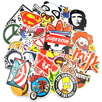 Sticker pack 200 pcs waterproof vinyl stickers for personalize laptop macbook ipad tablets vehicle bumper travel case