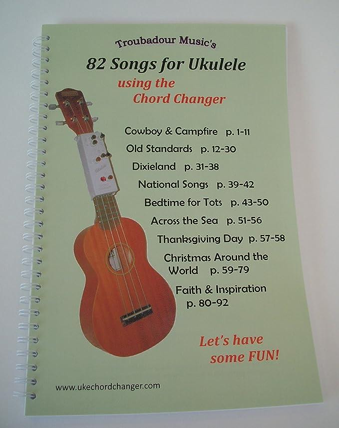 Amazon Ukulele Chord Changer And Songbook Set Musical Instruments
