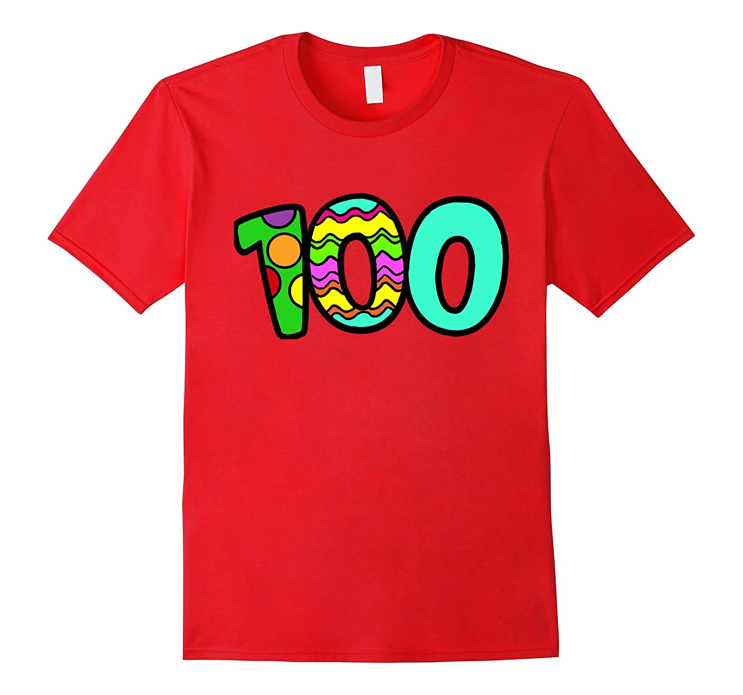 100th Day of School Teacher Student Shirt-CD