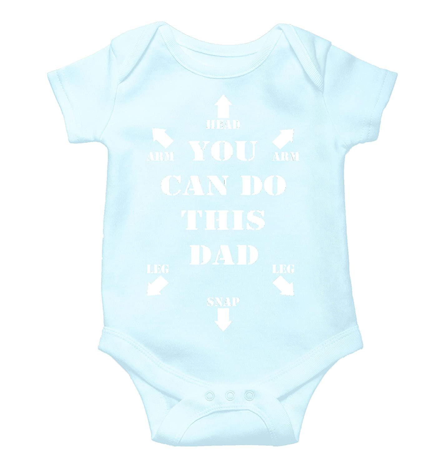 Witty Fashions You Can Do This Dad - Gift for New Dad - Funny Baby Bodysuit