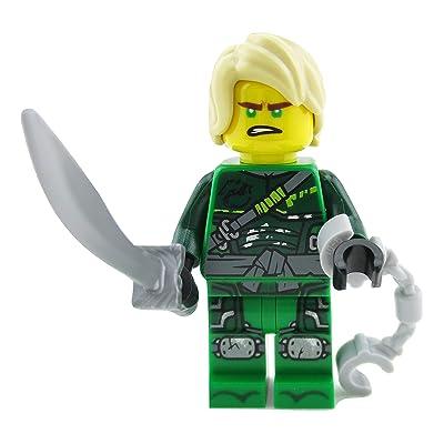 LEGO Ninjago Lloyd Green Ninja Minifigure 70651 Hunted Mini Fig: Toys & Games