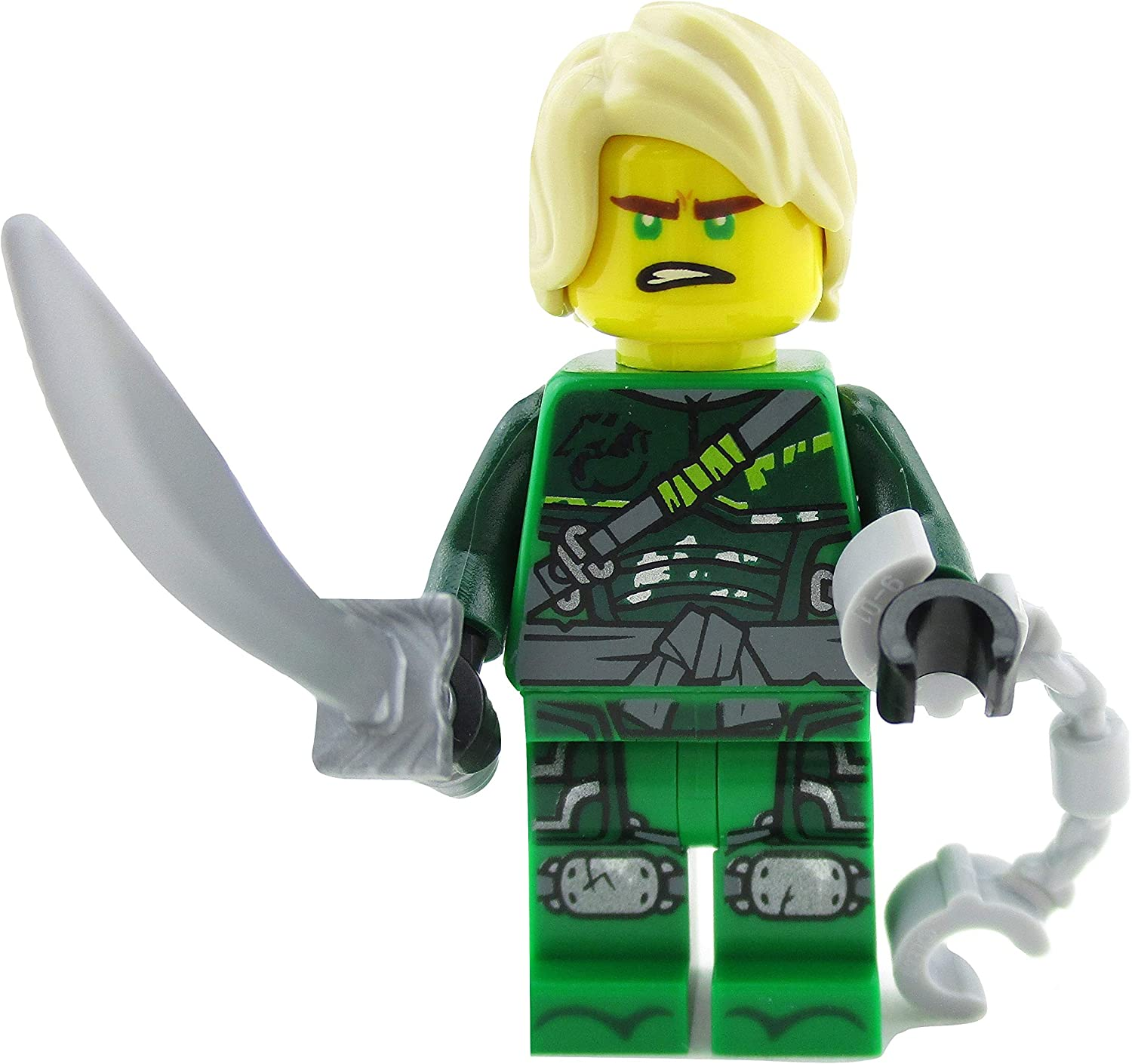 Amazon.com: LEGO Ninjago Lloyd Green Ninja 70651 - Mini ...