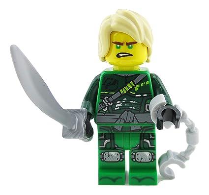 LEGO Ninjago Lloyd Green Ninja Minifigure 70651 Hunted Mini Fig