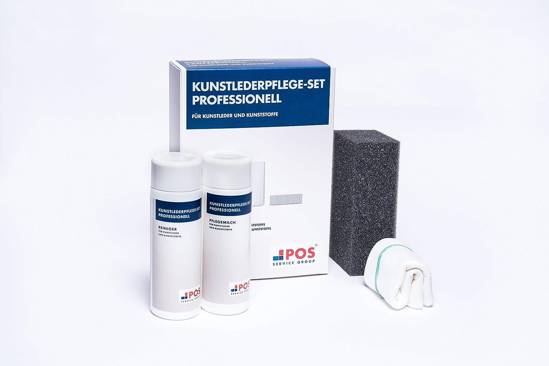 Pos Kunstlederpflege Set Professionell Für Ihr Sofa 2x150 Ml