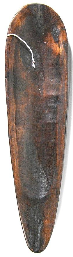 Amazon.com: Máscara de madera tallada a mano tribal africano ...