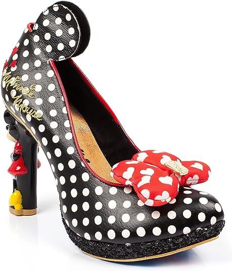 Disney Minnie Red bow polka dot heels