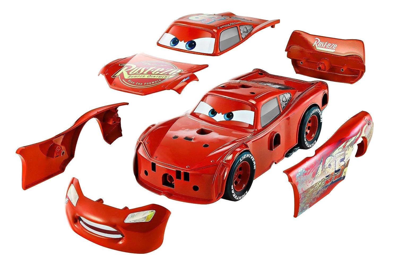 3-in-1 Rennfahrzeug Lightning McQueen mit Sound Mattel FCV95 Disney Cars3 Film- & TV-Spielzeug