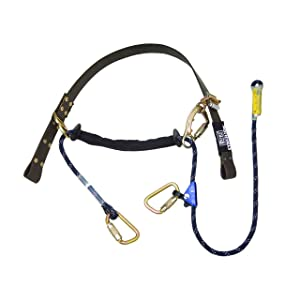 3M DBI-SALA Cynch-Lok 1204058 Fall Restriction Device, with Rope Lanyard For Transmission Poles Up To 305