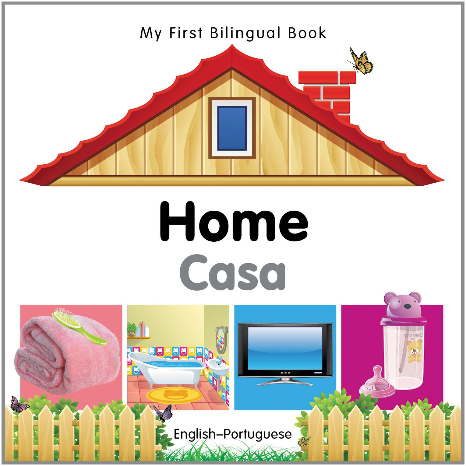 Read Online My First Bilingual Book–Home (English–Portuguese) ebook