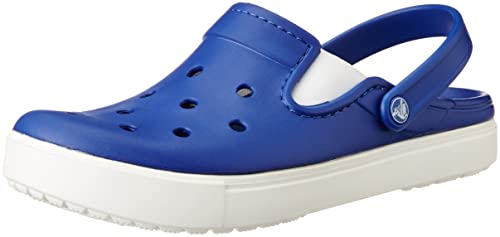 409cd13175f3 crocs Unisex Citilane Cerulean Blue and White Clogs and Mules - M6W8  Buy  Online at Low Prices in India - Amazon.in