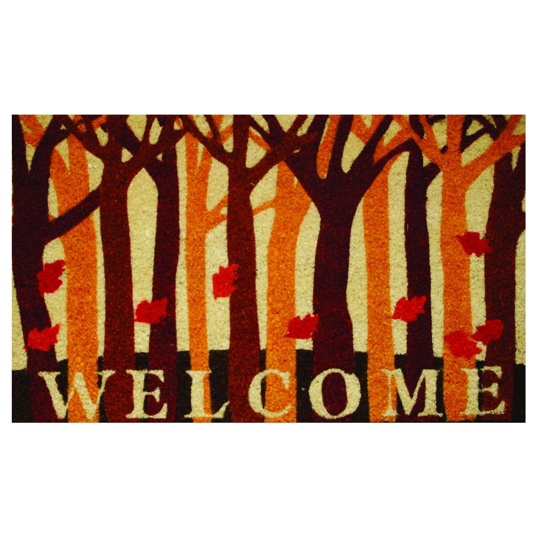 Amazon robert allen home garden welcome fall woods coir amazon robert allen home garden welcome fall woods coir doormat home kitchen kristyandbryce Images