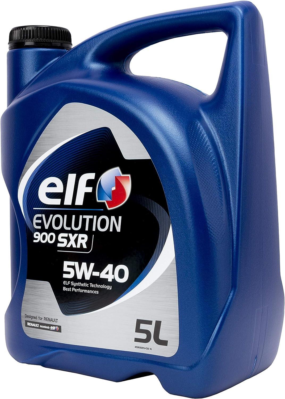 ALL LUBRICANTS SL ACELF5W405L Aceite DE Motor Elf Evolution 900 SXR 5W40 5 litros: Amazon.es: Coche y moto