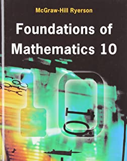 Foundations of Mathematics 9 Student Book: Barbara Canton