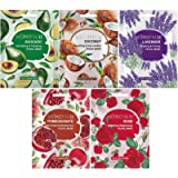 MOND'SUB Combo of Brightening Whitening and Tightening Face Sheet Masks (Pack of 5 x 20ml)