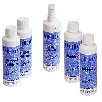 Acondicionador Natural Ultra Concentrado AquaBio para colchones de Agua y Burbujas de Aire; El Limpiador para el Vinilo: Amazon.es: Hogar