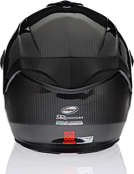 Suomy Vandal Anti-Fog and Anti-Scratch Helmet Shield KAVLVA Iridium Silver