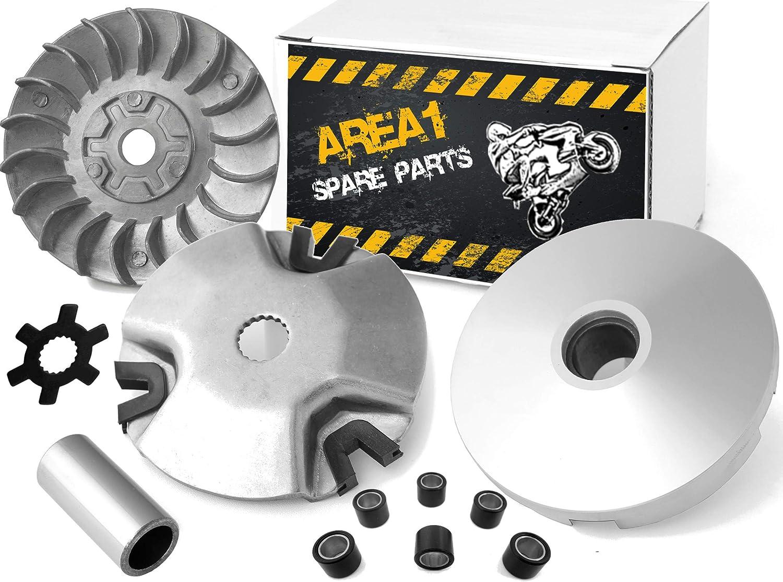 AGM Firejet Variomatik Kit de variateur Adly//Her Chee ATV 50 16 mm//15 dents