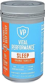 product image for Vital Proteins Orange Vanilla Sleep Powder, 13.6 OZ