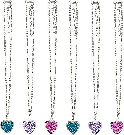 6Pcs//Set Fashion Plastic Chain Necklace For  Doll Party Accessorie/_sh